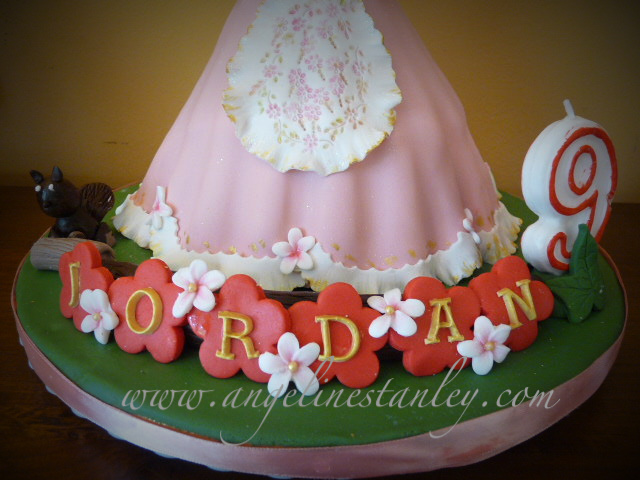 Doll Cake Images With Name : Barbie Doll Cake