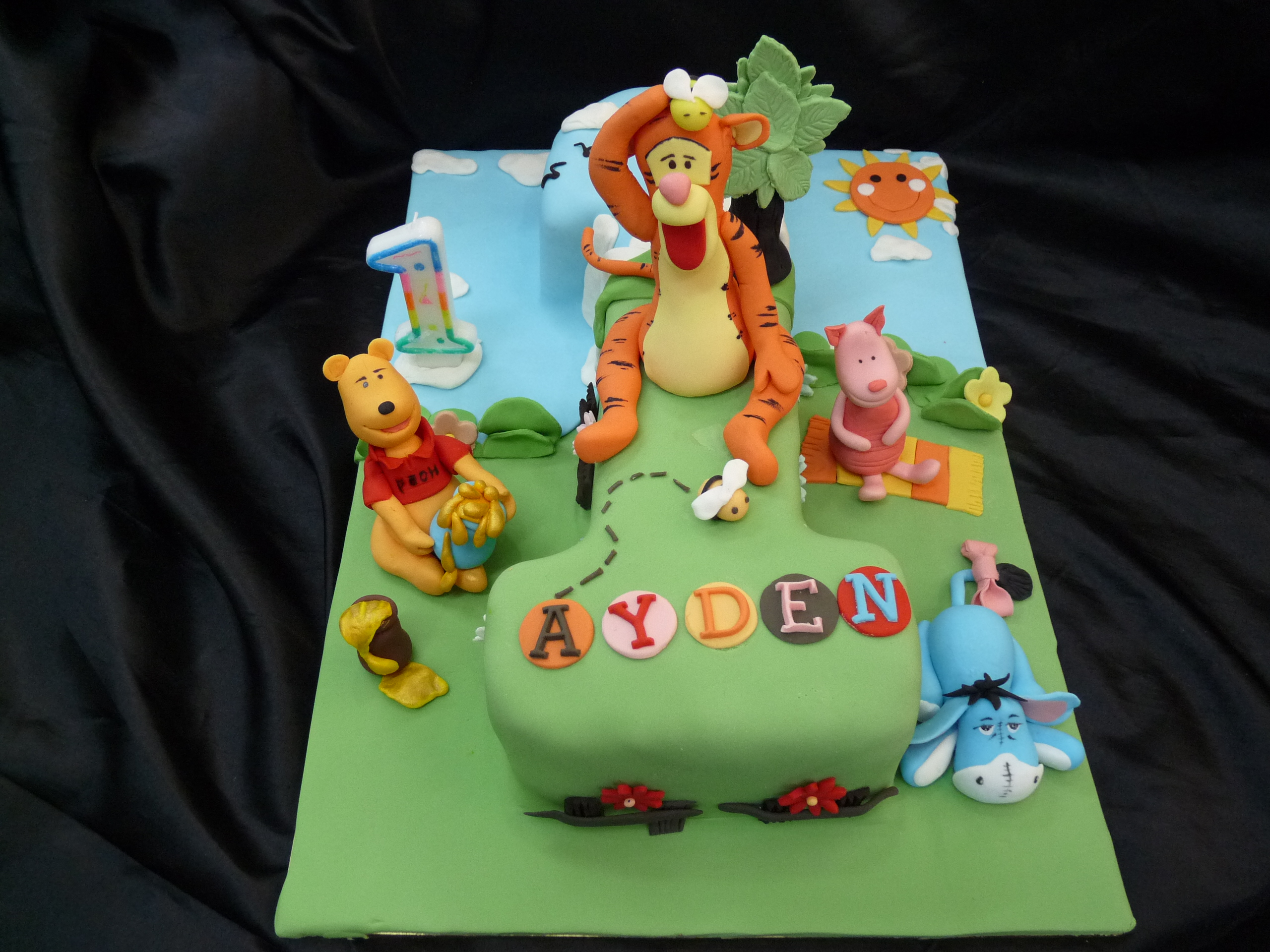 Number 1 Cake For One Year Old Child