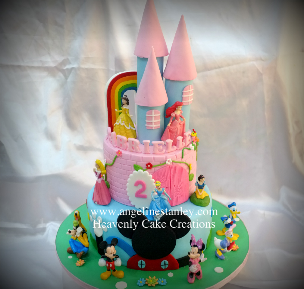 Castle Cake Mickey Mouse Clubhouse Cake