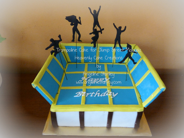 Trampoline Cake For Jump Street Malaysia